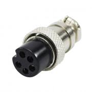 Разъем GX16-5A (на кабель)
