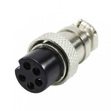 Разъем GX16-16-5 (на кабель)